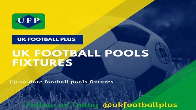 2018 football pools fixtures