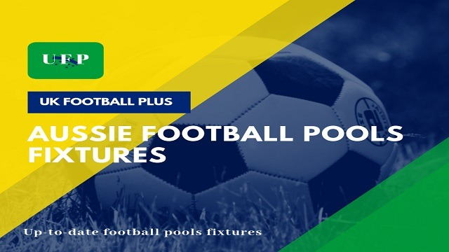2018 Aussie Football Pools Fixtures