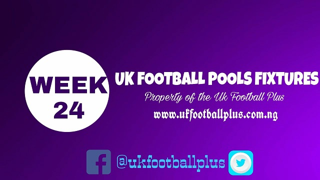 wk24 football pools fixtures