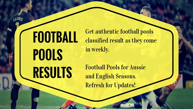 Football Pools Results