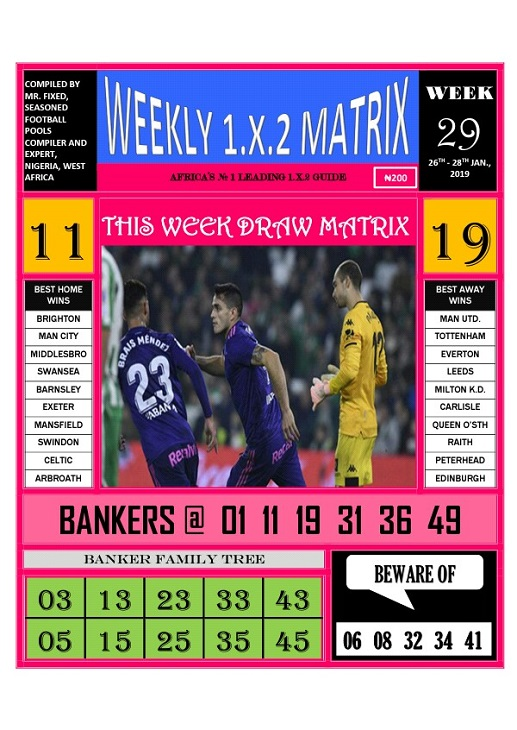 week 29 weekly 1x2 matrix-page 1