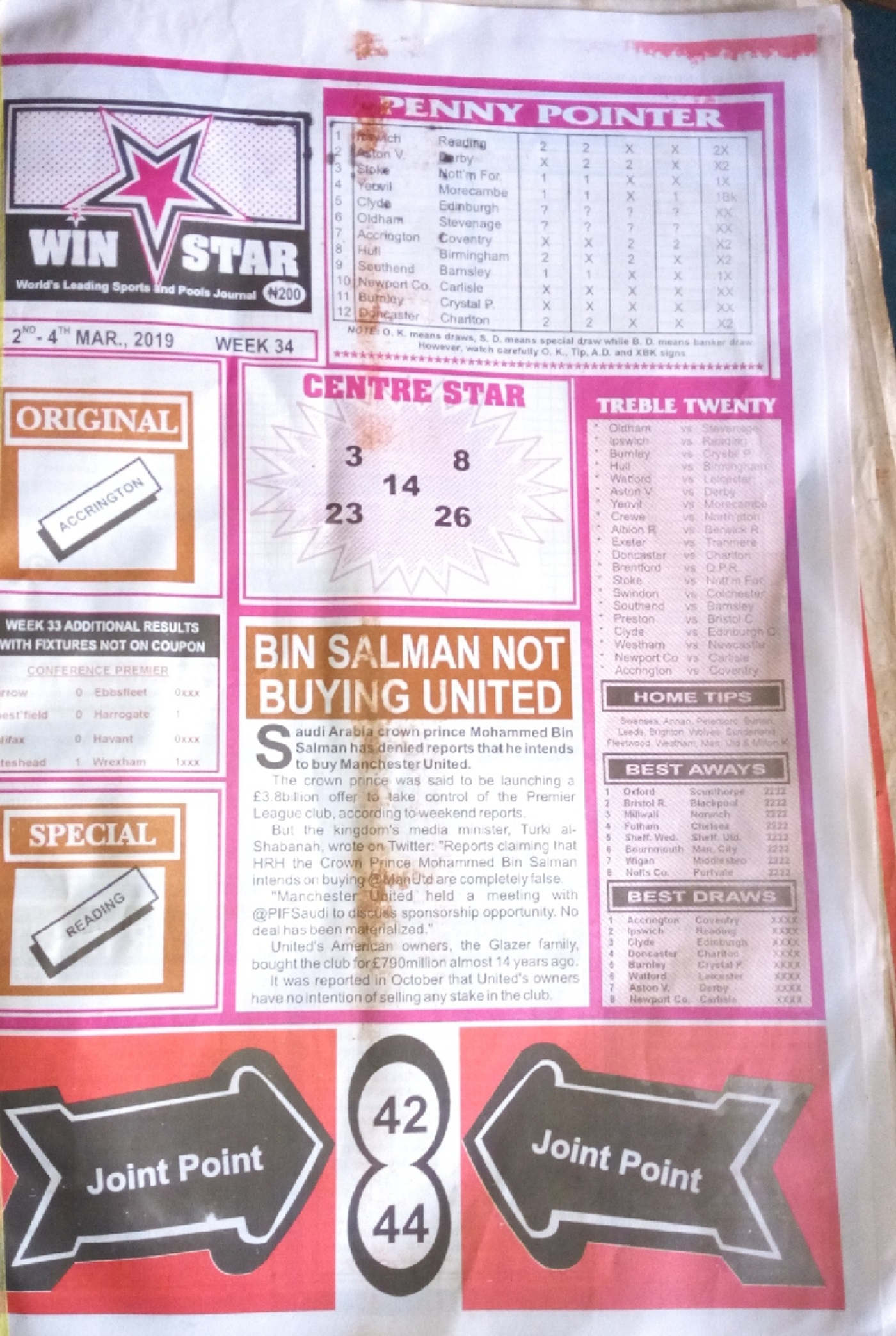 Week 34 Win Star Pg1