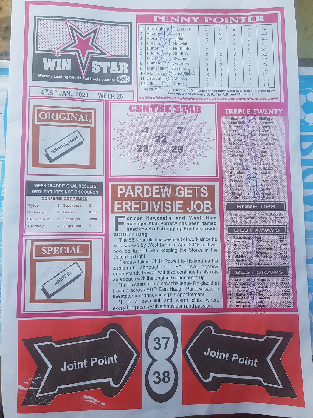 Week 26 WinStar - Page 1