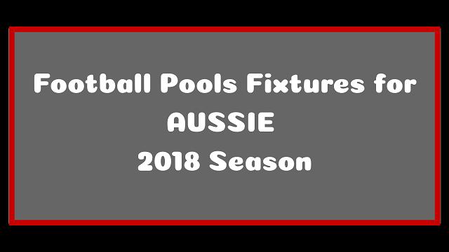 aussie pools fixtures 2018