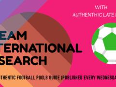 Week 30 Dream International Research Pools Papers – UK 2019/2020 Season