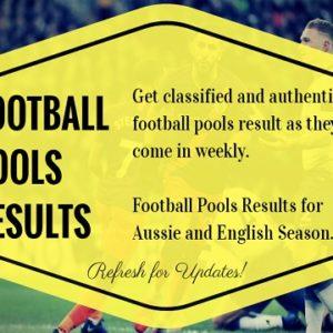 Week 29 Pools Results – UK 2019/2020 Season