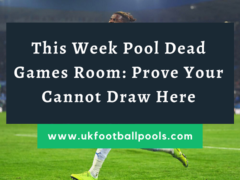 Week 30 Pool Dead Games 2020: Prove Your Cannot Draw Here