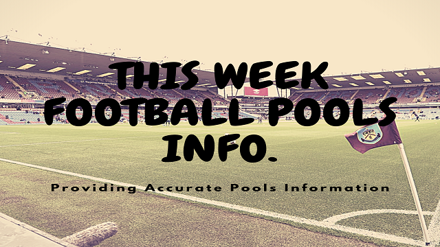 Week 52 Football Pools Information for Sat 4 July 2020 – Aussie 2020