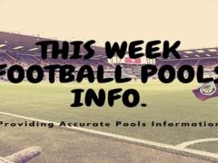 Week 30 Pools Info | UK Football Pools Information – UK 2019/2020