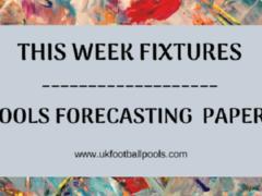 Week 29 Special Advance Fixtures, Right On Fixtures, Banky Fixtures – UK 2019/2020