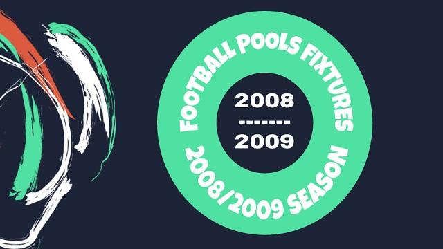 2008 - 2009 Fixtures