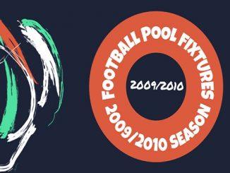 Pool Fixtures 2009-2010
