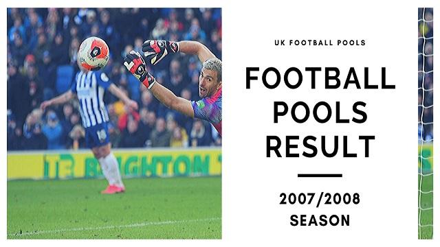 Pools Results 2007-2008 Season