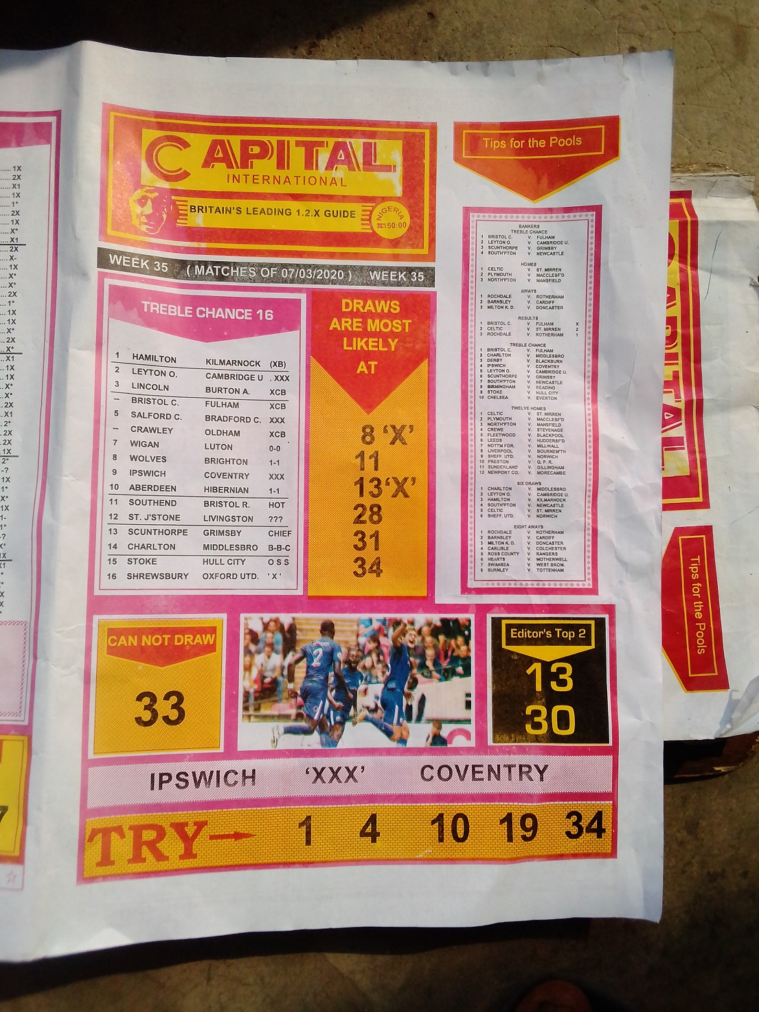 Week 35 Capital International - Page 1