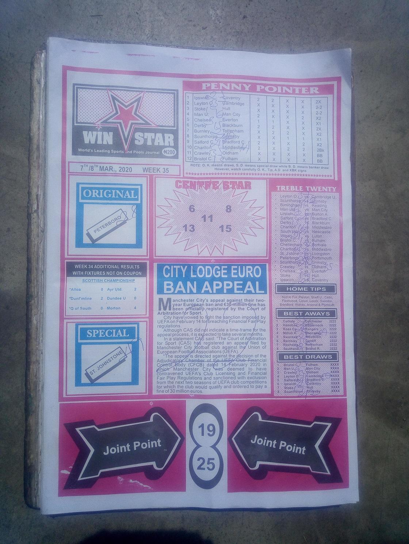 Week 35 WinStar - Page 1