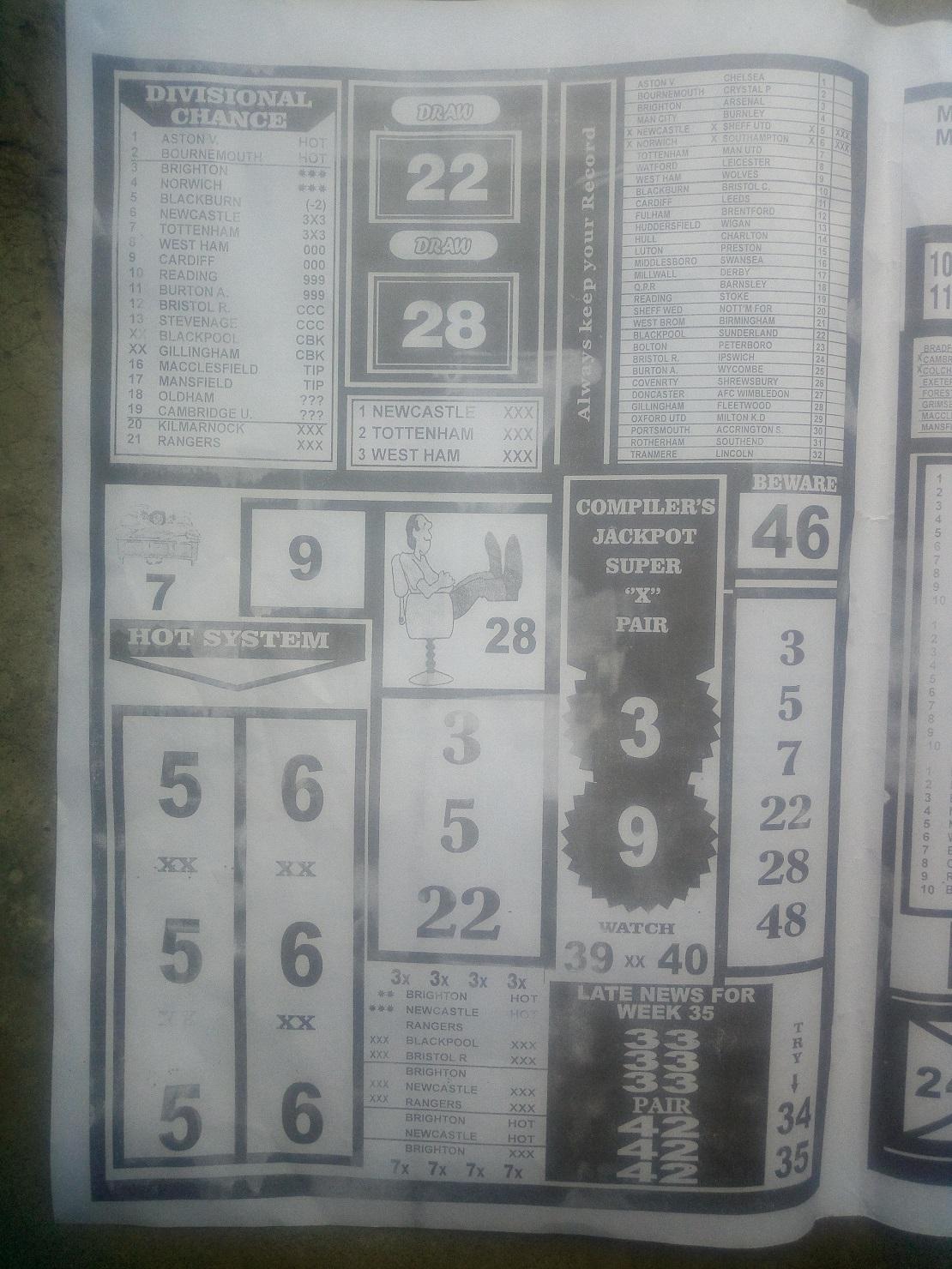 Week 36 BigWin Soccer - Page 2