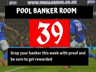Week 39 banker room 2020
