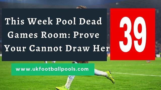 Week 39 pool dead room 2020