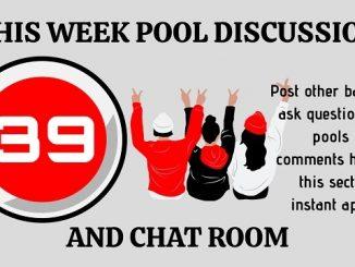 Week 39 pool diccussion room 2020