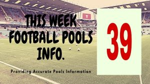 Week 39 pool information 2020