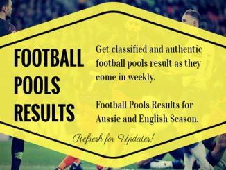 Week 39 pool result 2020