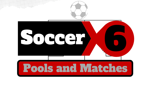 soccer 6 pools and matches