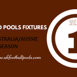 Week 1 Australia Pools Fixtures – Aussie 2020 Season