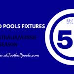 Week 50 Classified Football Pools Fixtures for Sat 20 June 2020 – Aussie 2020