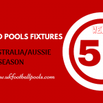 Week 51 Australia Pools Fixtures – Aussie 2020 Season