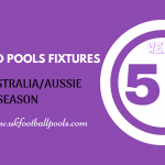 Week 52 Australia Pools Fixtures – Aussie 2020 Season