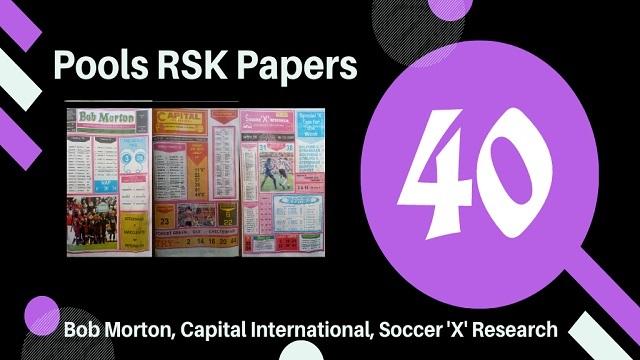 Week 40 rsk pool papers 2020