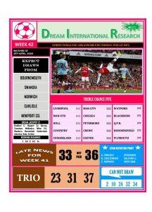 Week 42 Dream International Research - Page 1