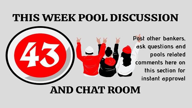 Week 43 pool diccussion room 2020