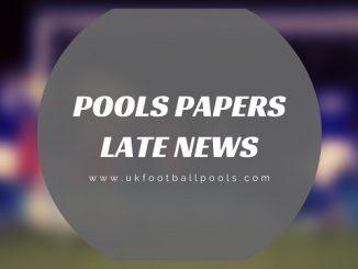 week 39 late news pools papers