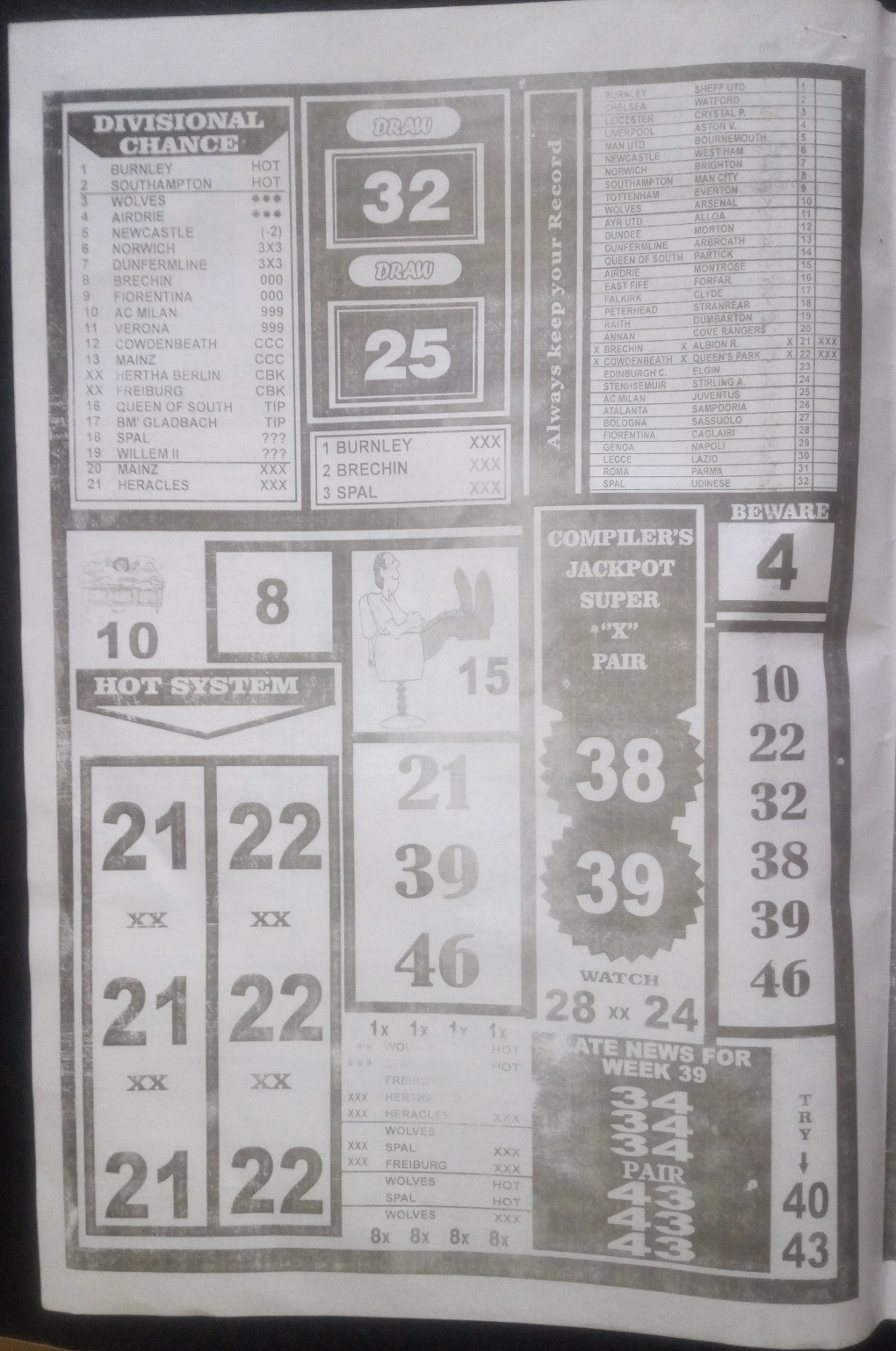 week 40 bigwin soccer - page 2