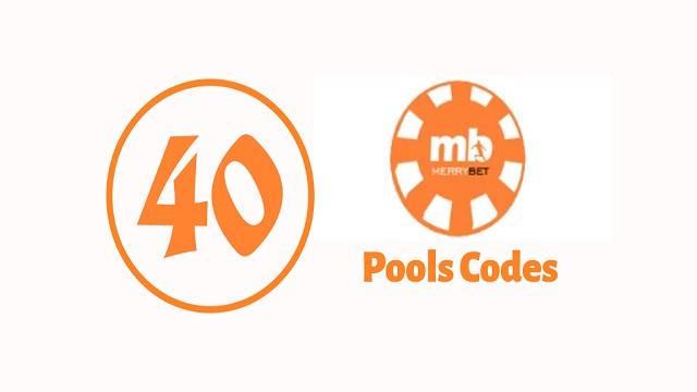 week 40 merrybet pool code 2020