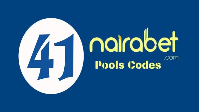week 41 nairabet pool codes 2020