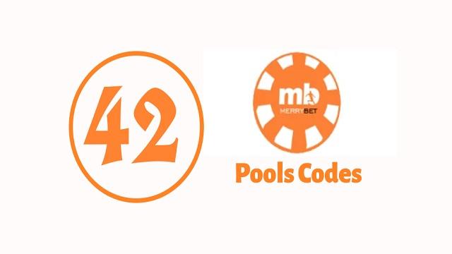 week 42 merrybet pools codes