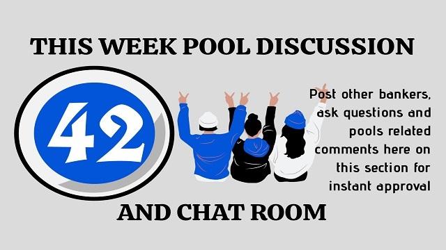 week 42 pool discussion room 2020
