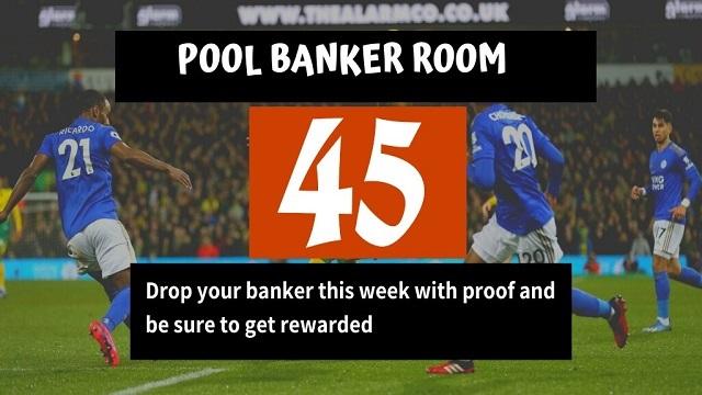 week 45 pool banker room aussie 2020