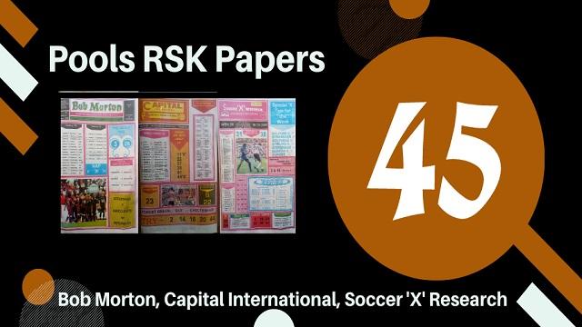 week 45 rsk papers - aussie 2020