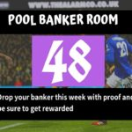 Pool Draw This Week 48; 2020 Banker Room – Pls Prove Your Best Banker, Pair Or Winning Line Here
