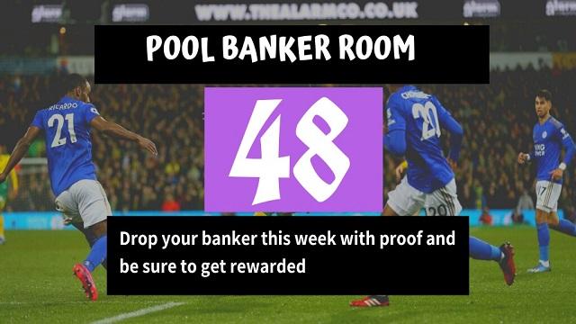 Week 48 Pool Banker Room 2020
