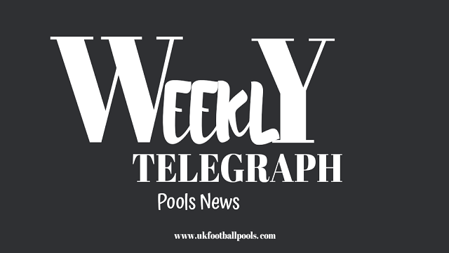 weekly telegraph pools news