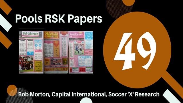 Week 49 Rsk Papers 2020