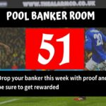 Week 51 Pool Banker Room 2020: Please Proof Your Best Banker, Pair or Winning Line Here!
