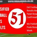 Week 51 Classified Football Pools Results for Sat 27 June 2020 – Aussie 2020