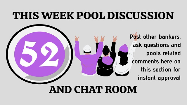 Week 52 Discussion Room 2020
