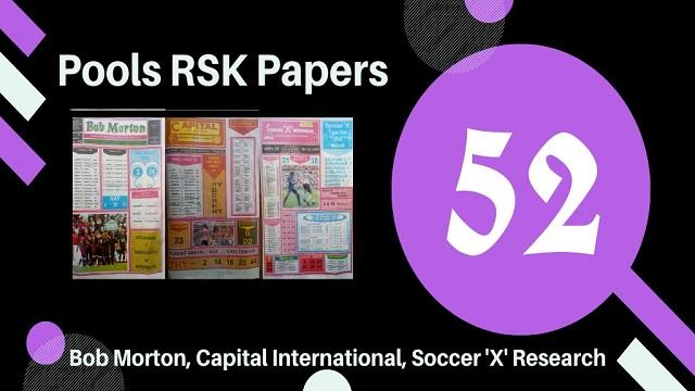 Week 52 Rsk Papers 2020