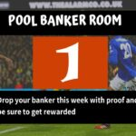 Week 1 Pool Banker Room 2020: Please Proof Your Best Banker, Pair or Winning Line Here!
